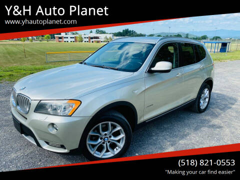 2011 BMW X3 for sale at Y&H Auto Planet in West Sand Lake NY