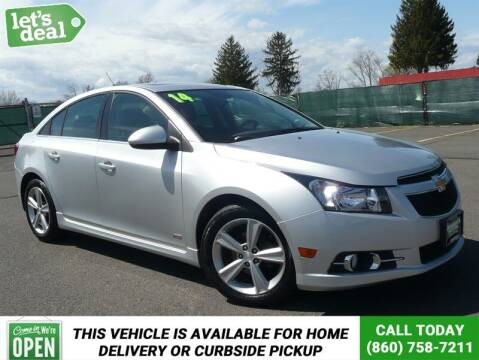 2014 Chevrolet Cruze for sale at Shamrock Motors in East Windsor CT