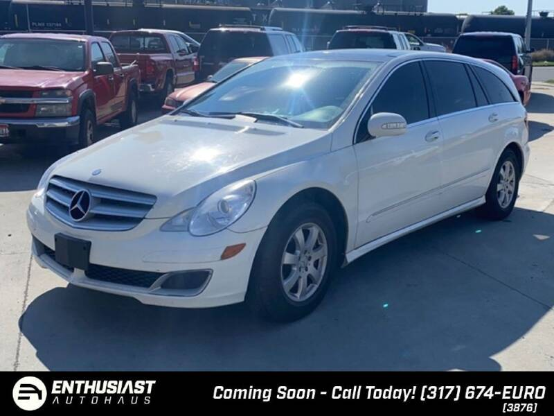 2007 Mercedes-Benz R-Class for sale at Enthusiast Autohaus in Sheridan IN