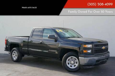 2014 Chevrolet Silverado 1500 for sale at Prado Auto Sales in Miami FL