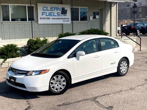2008 Honda Civic for sale at Clean Fuels Utah in Orem UT