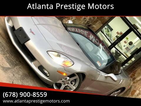 2007 Chevrolet Corvette for sale at Atlanta Prestige Motors in Decatur GA