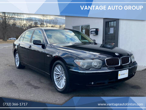 2004 BMW 7 Series for sale at Vantage Auto Group Tinton Falls in Tinton Falls NJ
