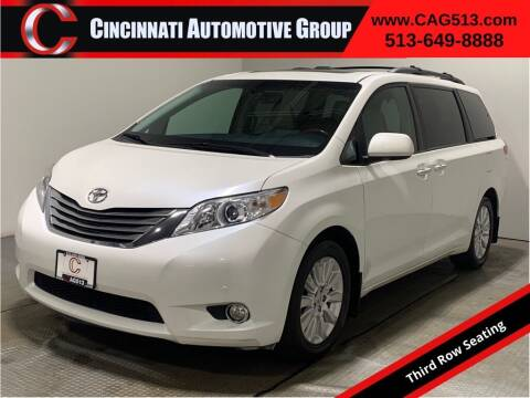 2012 Toyota Sienna for sale at Cincinnati Automotive Group in Lebanon OH