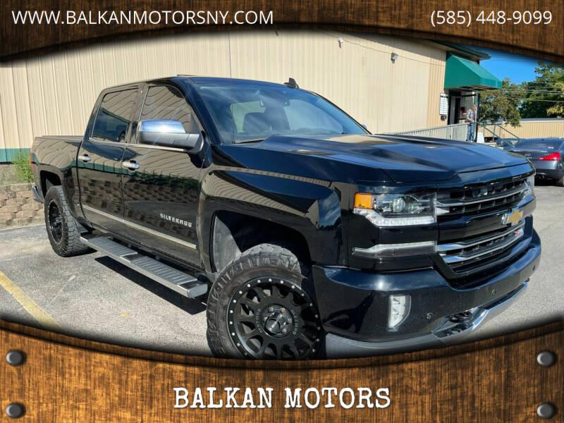2016 Chevrolet Silverado 1500 for sale at BALKAN MOTORS in East Rochester NY