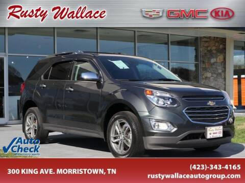 2017 Chevrolet Equinox for sale at RUSTY WALLACE CADILLAC GMC KIA in Morristown TN