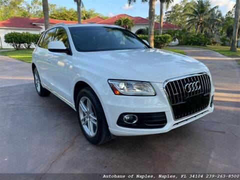 2015 Audi Q5 for sale at Autohaus of Naples Inc. in Naples FL