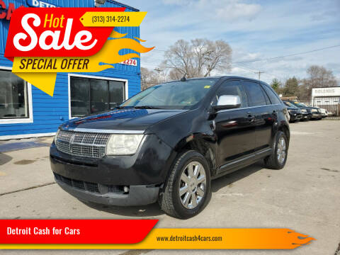 2008 Lincoln MKX for sale at Detroit Cash for Cars in Warren MI