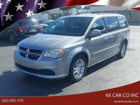 2014 Dodge Grand Caravan for sale at KK Car Co Inc in Lake Worth FL