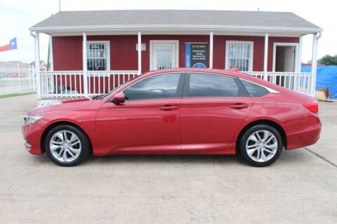 2018 Honda Accord for sale at AMT AUTO SALES LLC in Houston TX