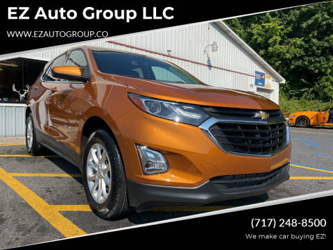 2018 Chevrolet Equinox for sale at EZ Auto Group LLC in Lewistown PA