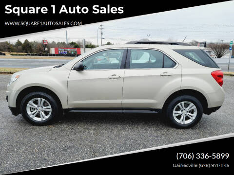 2015 Chevrolet Equinox for sale at Square 1 Auto Sales - Commerce in Commerce GA
