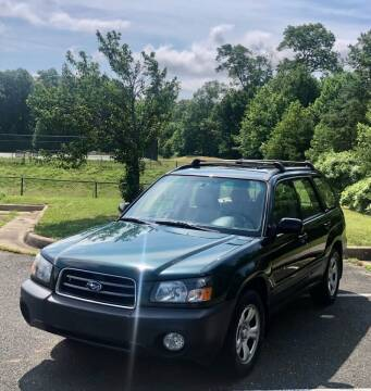2003 Subaru Forester for sale at ONE NATION AUTO SALE LLC in Fredericksburg VA