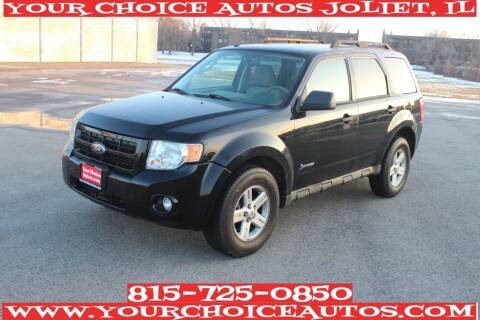 2010 Ford Escape Hybrid for sale at Your Choice Autos - Joliet in Joliet IL