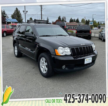 2008 Jeep Grand Cherokee for sale at Corn Motors in Everett WA