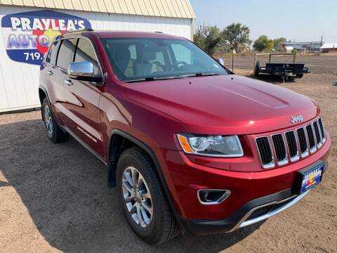 2015 Jeep Grand Cherokee for sale at Praylea's Auto Sales in Peyton CO