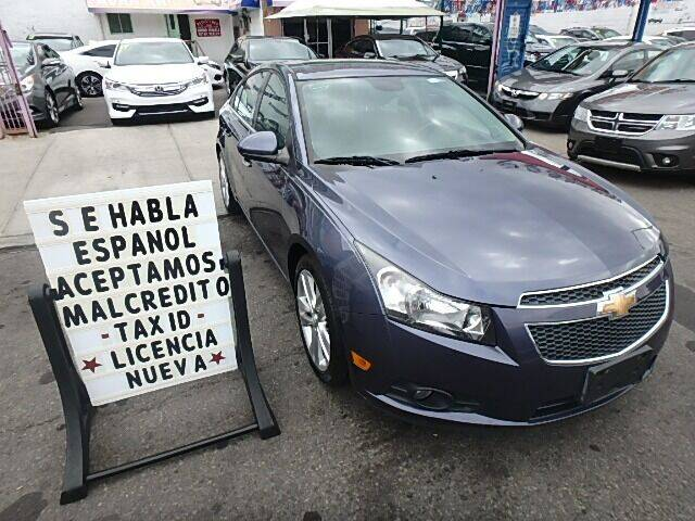 2013 Chevrolet Cruze for sale at Cedano Auto Mall Inc in Bronx NY