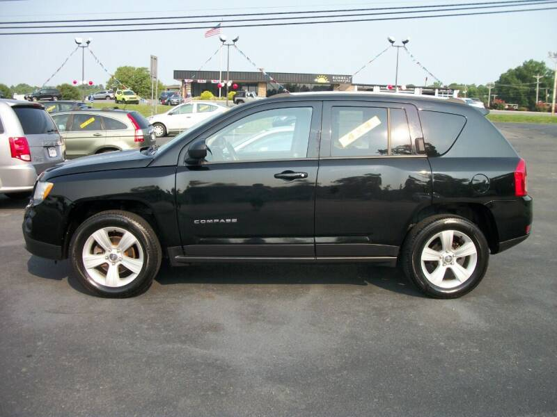 2013 Jeep Compass for sale at Lentz's Auto Sales in Albemarle NC