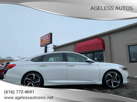2019 Honda Accord for sale at Ageless Autos in Zeeland MI