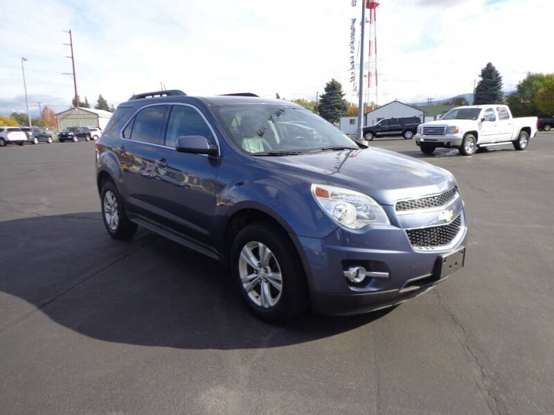 2013 Chevrolet Equinox for sale at New Deal Used Cars in Spokane Valley WA