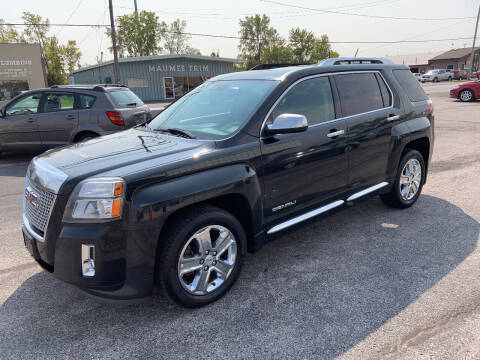 2013 GMC Terrain for sale at Bruce Kunesh Auto Sales Inc in Defiance OH