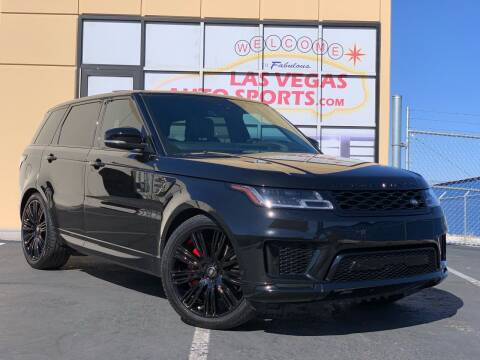 2020 Land Rover Range Rover Sport for sale at Las Vegas Auto Sports in Las Vegas NV