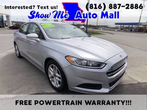 2016 Ford Fusion for sale at Show Me Auto Mall in Harrisonville MO