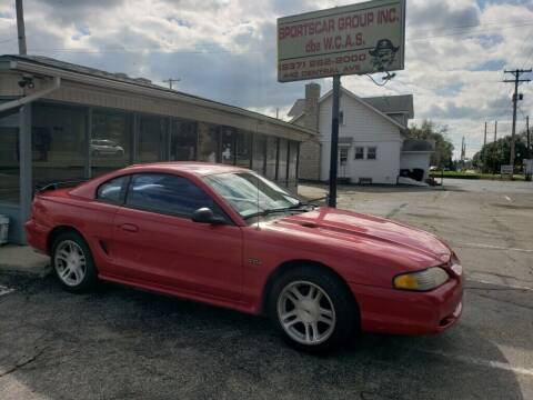 1998 Ford Mustang for sale at Sportscar Group INC in Moraine OH