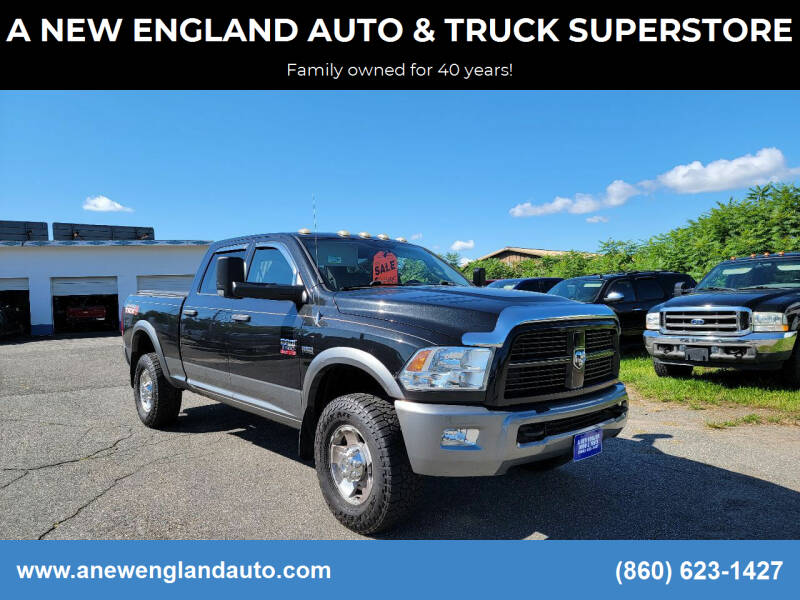 2010 Dodge Ram Pickup 2500 for sale at A NEW ENGLAND AUTO & TRUCK SUPERSTORE in East Windsor CT