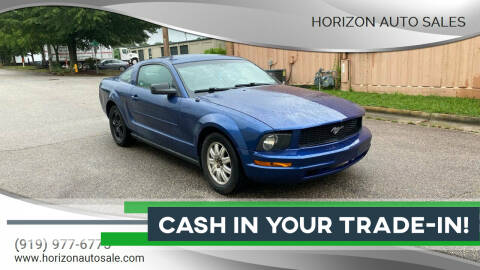 2008 Ford Mustang for sale at Horizon Auto Sales in Raleigh NC