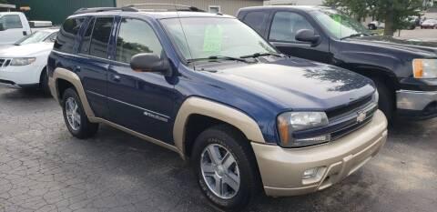 2004 Chevrolet TrailBlazer for sale at Van Kalker Motors in Grand Rapids MI