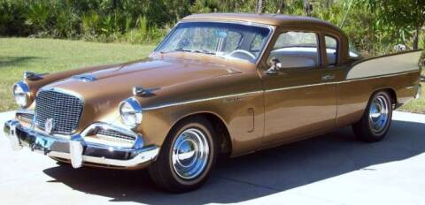 1958 Studebaker Silver Hawk for sale at Classic Car Deals in Cadillac MI