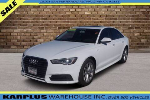2017 Audi A6 for sale at Karplus Warehouse in Pacoima CA
