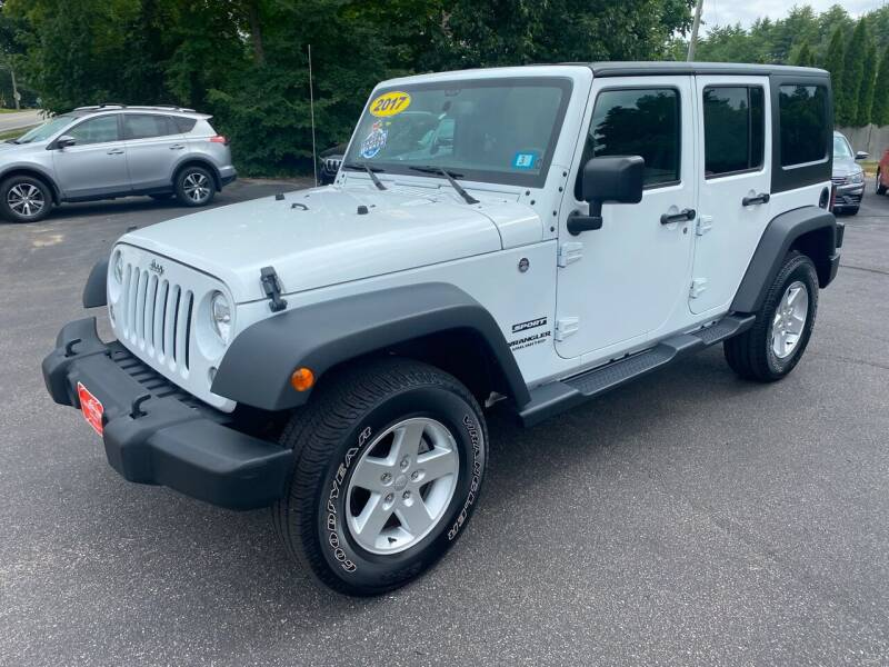 2017 Jeep Wrangler Unlimited for sale at Glen's Auto Sales in Fremont NH
