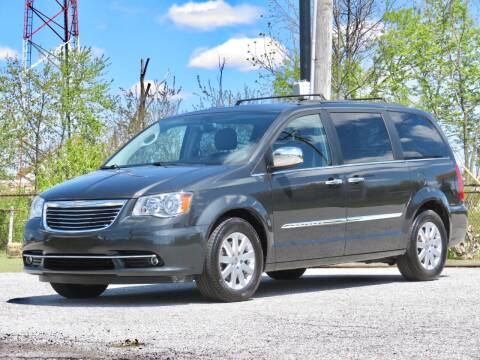 2012 Chrysler Town and Country for sale at Tonys Pre Owned Auto Sales in Kokomo IN