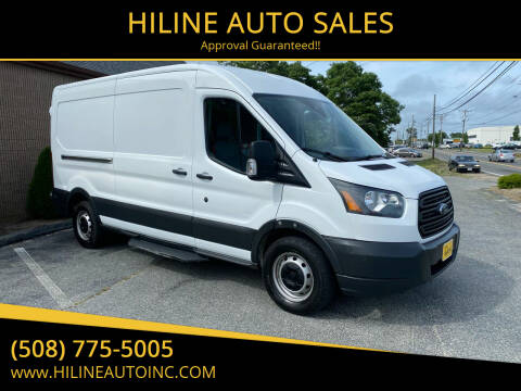 2017 Ford Transit Cargo for sale at HILINE AUTO SALES in Hyannis MA