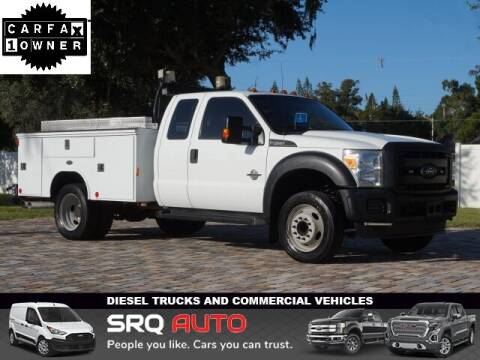 2015 Ford F-450 Super Duty for sale at SRQ Auto LLC in Bradenton FL