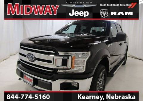2018 Ford F-150 for sale at MIDWAY CHRYSLER DODGE JEEP RAM in Kearney NE