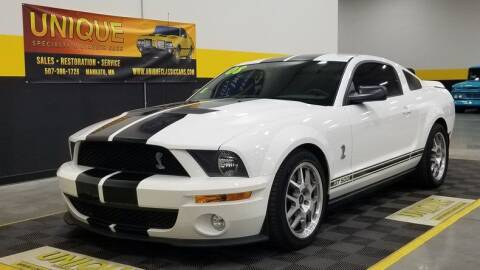 2008 Ford Shelby GT500 for sale at UNIQUE SPECIALTY & CLASSICS in Mankato MN