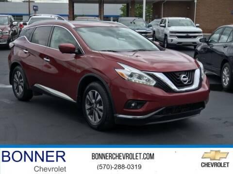 2016 Nissan Murano for sale at Bonner Chevrolet in Kingston PA