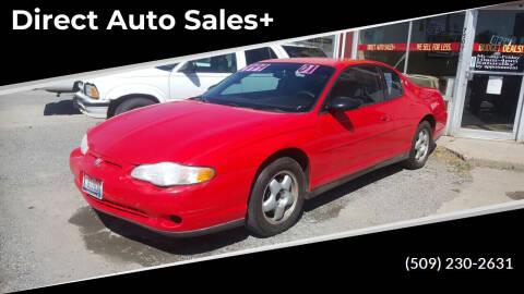 2001 Chevrolet Monte Carlo for sale at Direct Auto Sales+ in Spokane Valley WA