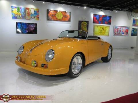 1957 Porsche 356 for sale at The New Auto Toy Store in Fort Lauderdale FL