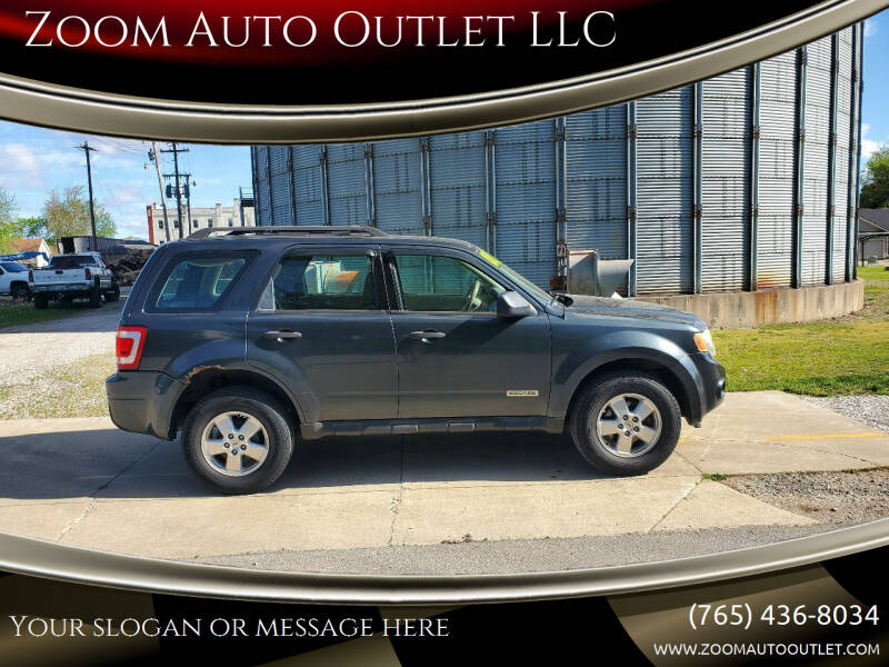 2008 Ford Escape for sale at Zoom Auto Outlet LLC in Thorntown IN