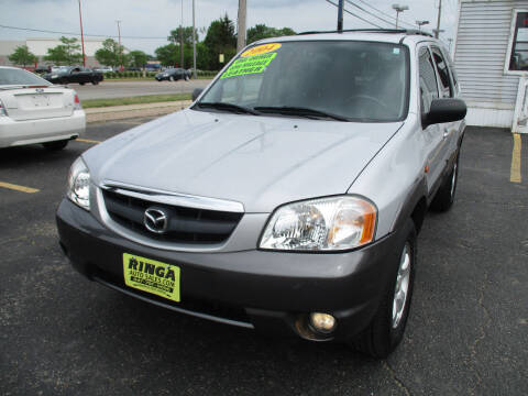 2004 Mazda Tribute for sale at Ringa Auto Sales in Arlington Heights IL