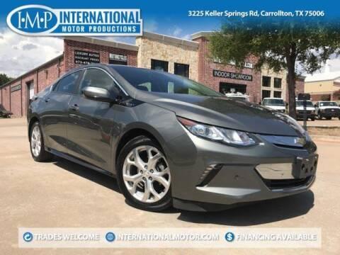 2016 Chevrolet Volt for sale at International Motor Productions in Carrollton TX