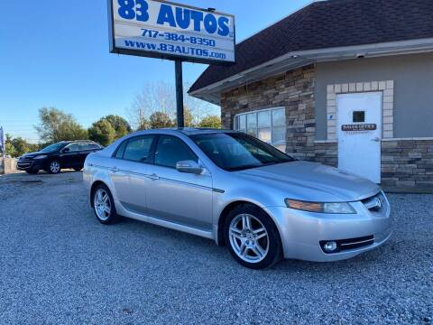 2008 Acura TL for sale at 83 Autos in York PA