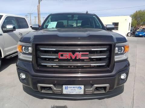 2015 GMC Sierra 1500 for sale at Hugo Motors INC in El Paso TX