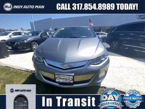 2018 Chevrolet Volt for sale at INDY AUTO MAN in Indianapolis IN
