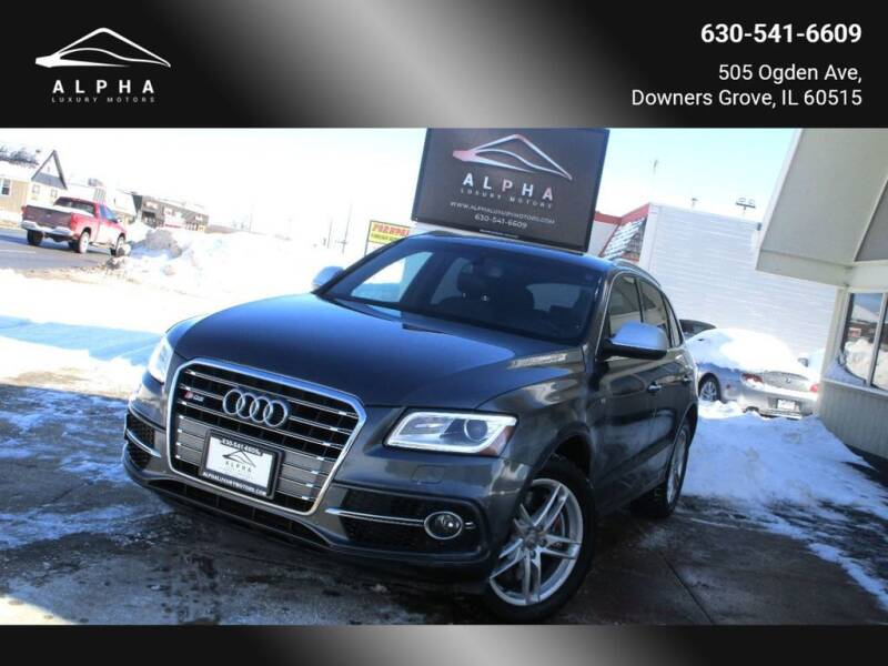 2015 Audi SQ5 for sale at Alpha Luxury Motors in Downers Grove IL
