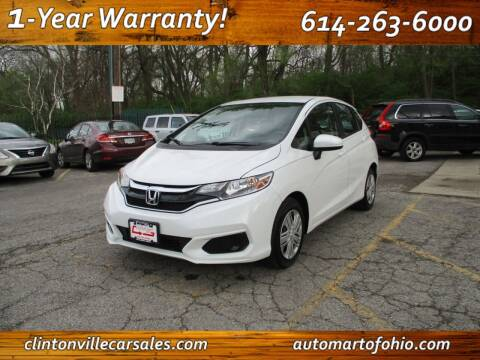 2019 Honda Fit for sale at Clintonville Car Sales - AutoMart of Ohio in Columbus OH